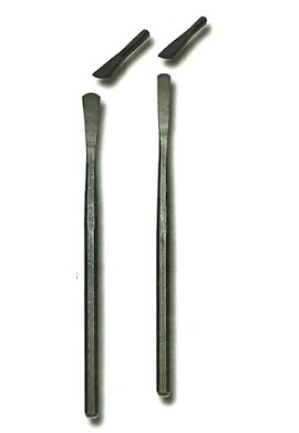 Escalpelo-cincel redondeado acero 10 x 9 mm