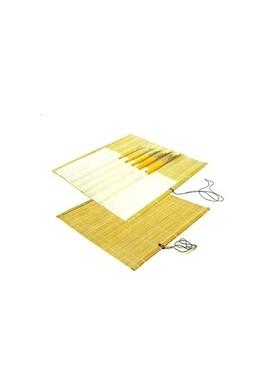 Esterilla de bambú