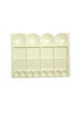 Placa plástico sobremesa