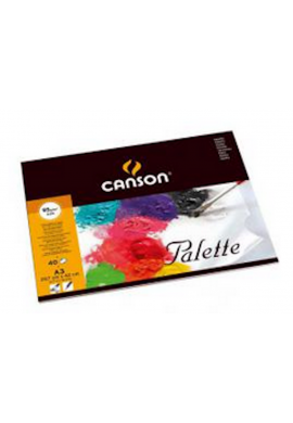 Paleta Canson hojas papel