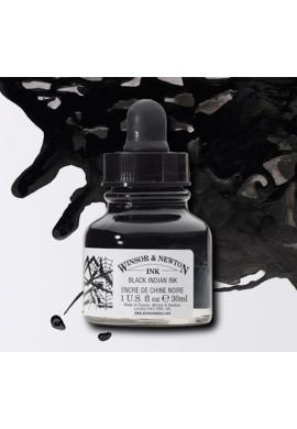 Tinta china negra Winsor and Newton 30 ml