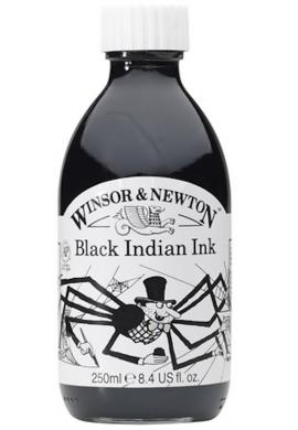 Tinta negra Winsor 250 ml