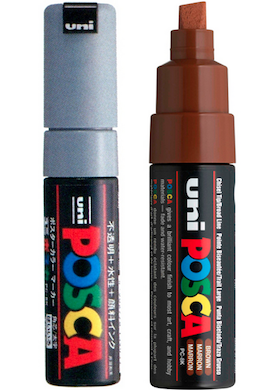 Rotulador UNI Posca Punta PC-8K Punta 6 mm