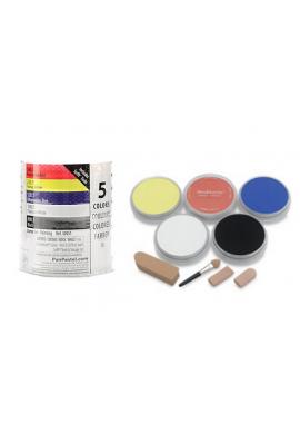 Panpastel set de 5 colores.