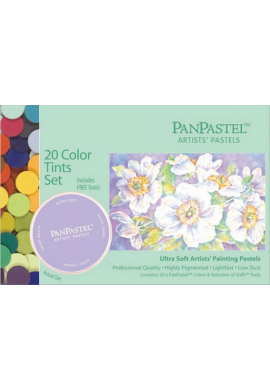 Panpastel set 20 colores tonos (pastel)