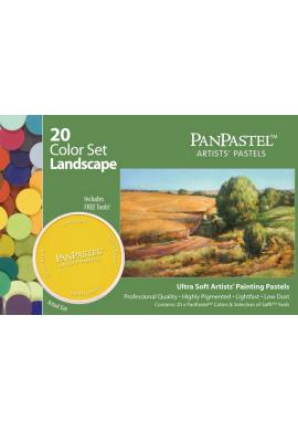 Panpastel set 20 colores paisaje