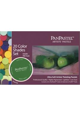 Panpastel set 20 sombras