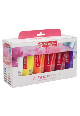 Art Creation set 10 acrilico 75 ml.