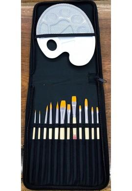 Set pinceles y paleta