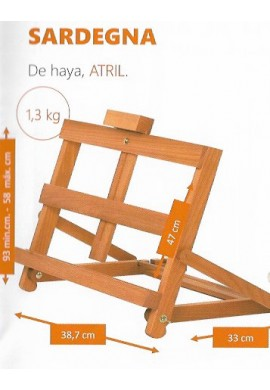 Atril table