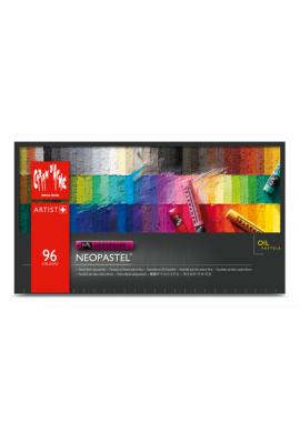 Caja metal pastel al óleo 96 colores NEOPASTEL