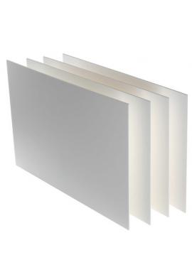 Cartón pluma blanco 70 x 50 5mm.