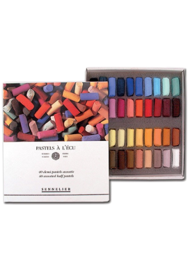 Caja pastel media barra Sennelier 40