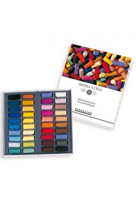 Caja pastel media barra Sennelier 30