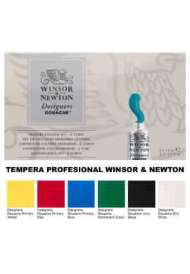 Témpera primarios Winsor and Newton