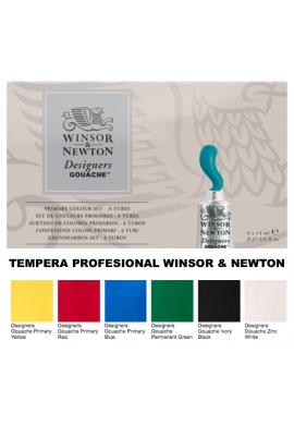 Témpera primarios Winsor and Newton
