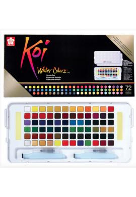 Koi caja 72 acuarelas