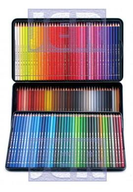 Caja metal FABER-CASTELL Polychromos 120 colores