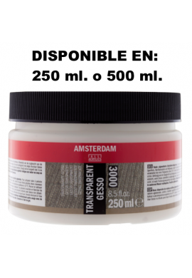 Gesso transparente Amsterdam
