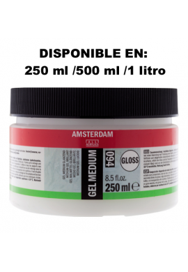 Gel medium acrílico brillo relieves 250 ml TALENS