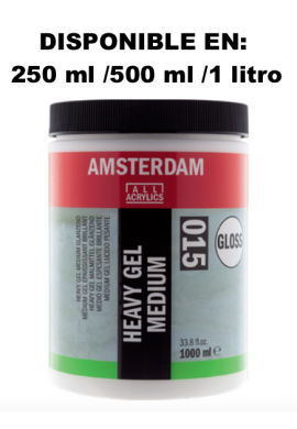 Gel medium denso acrílico brillo relieves 250 ml TALENS
