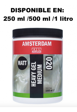 Gel medium denso acrílico mate relieves 250 ml TALENS