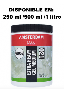Gel medium extradenso brillo