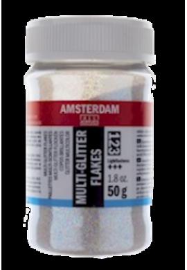 Copos purpurina multicolor Amsterdam