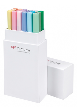 Tombow set 18 pastel