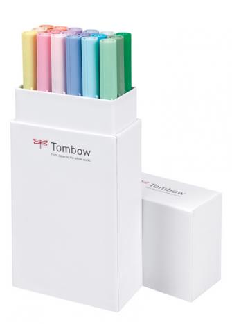 Tombow set 18 pastel