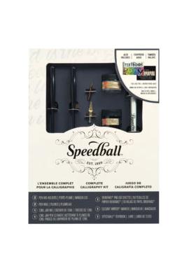 Conjunto completo caligrafia Speedball