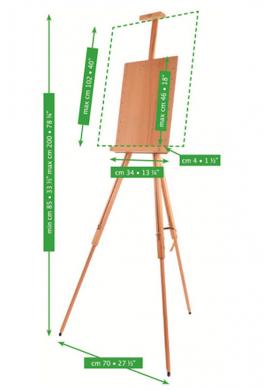 Caballete campo Mabef M36