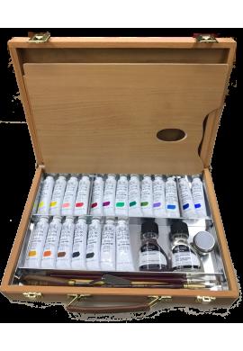 Caja Winsor Newton óleo profesional master