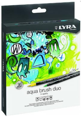 Caja 36 rotuladores Aqua Brush Lyra
