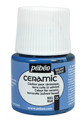 Pintura Ceramic Pebeo 45 ml.