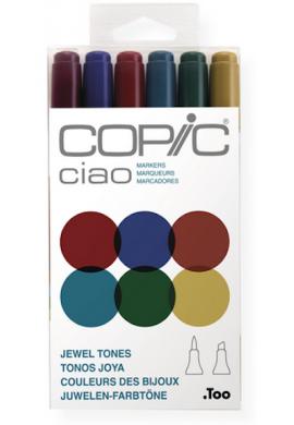 Nuevo Set Copic Ciao 6 colores JOYA