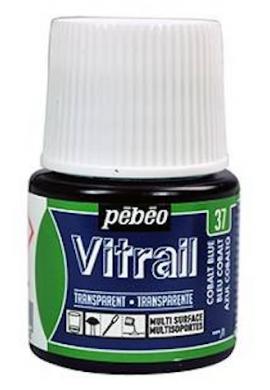 Vitrail Pebeo transparente Bote 45 ml.