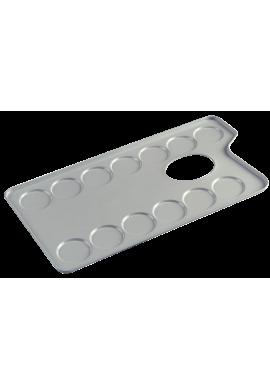 Paleta aluminio esmaltada
