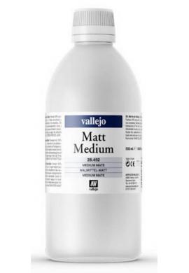 Medium acrílico fluido mate