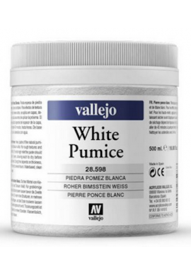 Piedra pómez blanca 500 ml VALLEJO