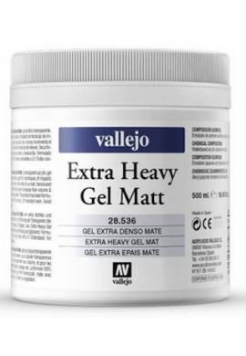 Gel extradenso mate 500 ml Vallejo