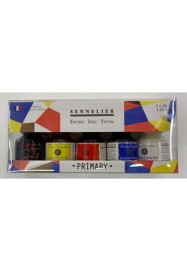 Set 5 tintas Sennelier básicos