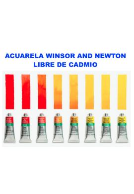 Acuarela Winsor libre de cadmio tubo 5 ml.