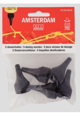 Boquillas Amsterdam acrílico