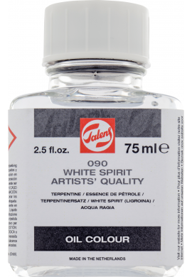 White spirit sin olor Talens 75 ml