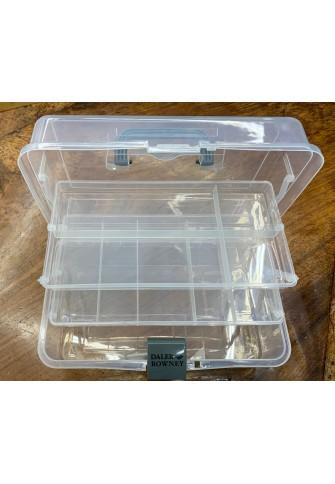 Caja materiales plástico