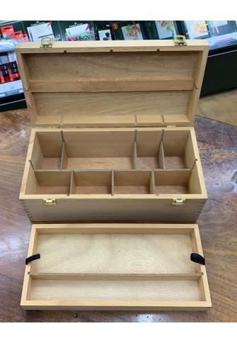 Caja madera para materiales grande