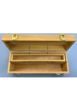 Caja madera para materiales pequeña.