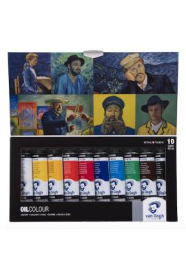 Set 10 óleo Van Gogh cartón