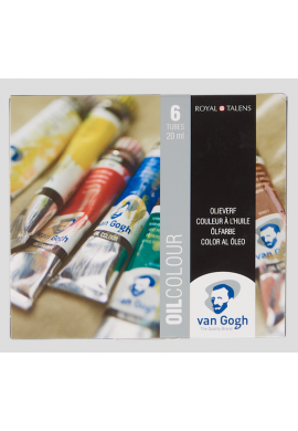 Set Van Gogh 6 tubos